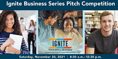 Ignite Business Series Pitch Competition: Audience Registration tickets