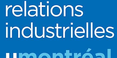 Les carrières en relations industrielles: du diplôme au marché du travail. tickets