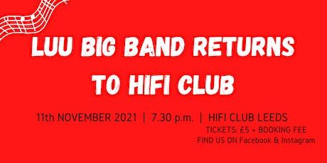 LUU Big Band Returns to HiFi tickets