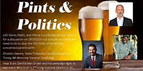 Pints and Politics tickets