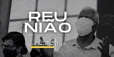 Reunião de Domingo a noite -  24.10.21   MPV Curitiba ingressos