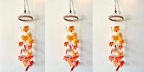 Mobile Leaf Decoration Workshop tickets