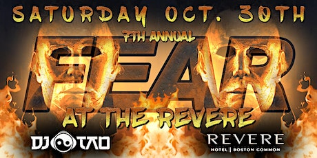 HALLOWEEN IN BOSTON - FEAR at the REVERE - Saturday Oct. 30th tickets