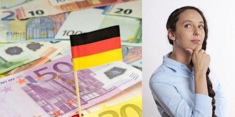 Webinar: German Taxes and Financial Optimisation tickets