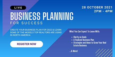 Business Planning for Success tickets