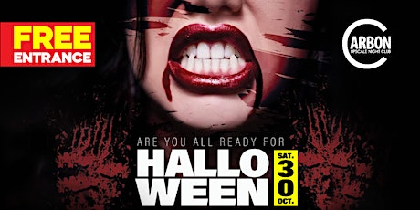 Halloween Party @ Carbon Lounge - Free Guest List tickets