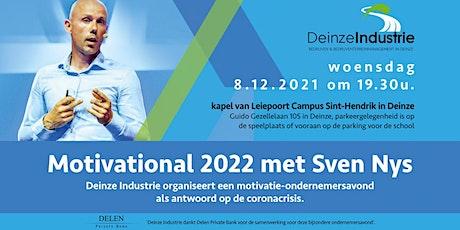 Motivational 2022 met Sven Nys tickets
