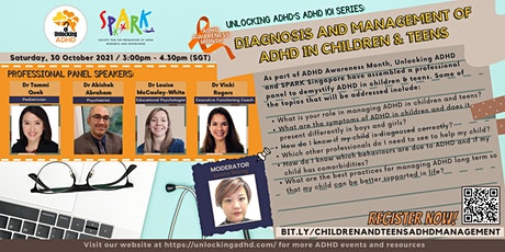 ADHD 101 Series: Diagnosis and Management of ADHD in Children & Teens tickets