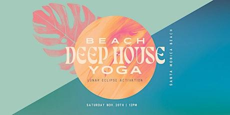 Flow + Vibe // Beach Deep House Yoga tickets