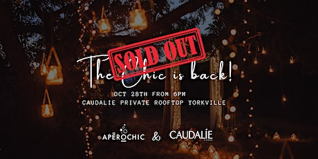 The Chic is back! Private rooftop in Yorkville tickets