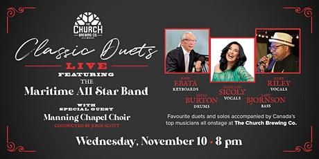 Classic Duets featuring the Maritime All Star Band tickets