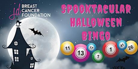 JD Breast Cancer Foundation Halloween Bingo tickets