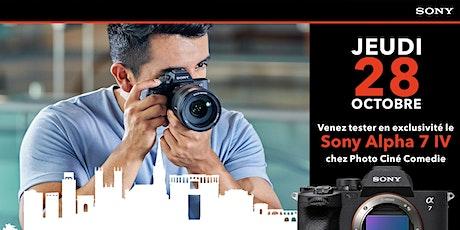 Sony Alpha 7 IV : testez le en exclusivité ! billets