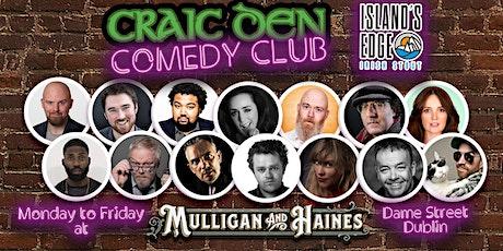 Craic Den Comedy Club - November 3rd tickets