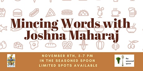 Mincing Words with Joshna Maharaj tickets