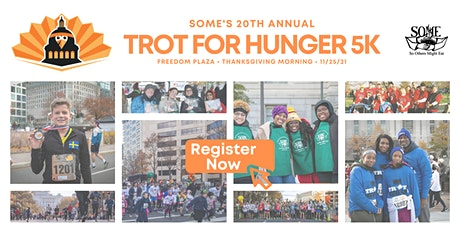 SOME's 20th Annual Trot for Hunger 5k - In-Person & Virtual! tickets