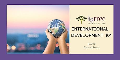 International Development 101 tickets