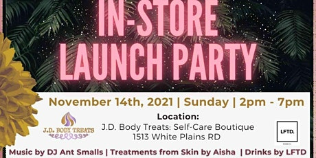 D Flora  Beauty Stocks the Shelves at JD Body Treats Self Care Boutique tickets