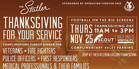 4th Annual Thanksgiving for your  Service tickets