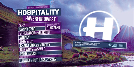 Hospitality Haverfordwest tickets