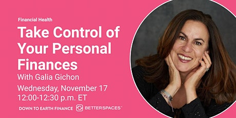 Take Control of Your Personal Finances tickets