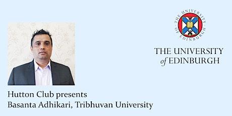 Hutton Club: Dr Basanta Adhikari tickets