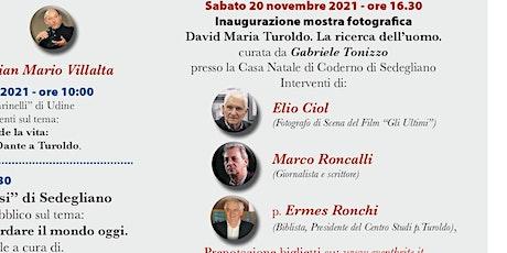 """Inaugurazione mostra: """"David Maria Turoldo. Lo sguardo dell'uomo"""" biglietti"""