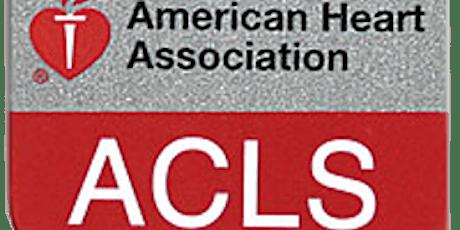 Advanced Cardiac Life Support (ACLS) tickets
