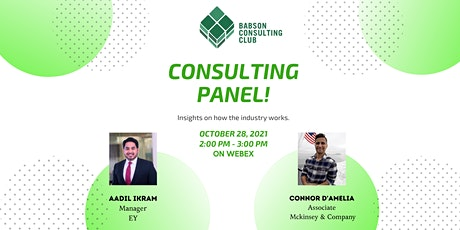Consulting Panel entradas