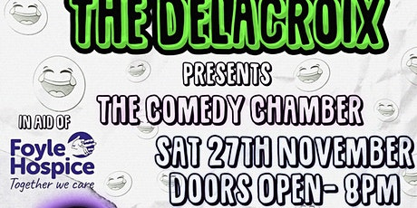 The Comedy Chamber in aid of Foyle Hospice tickets