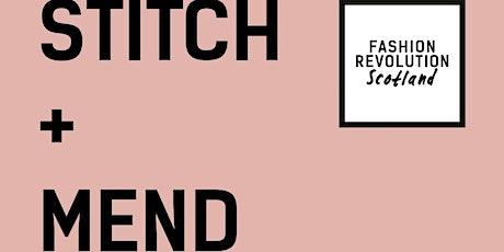 Stitch & Mend  x COP 26 with Fashion Revolution Scotland tickets