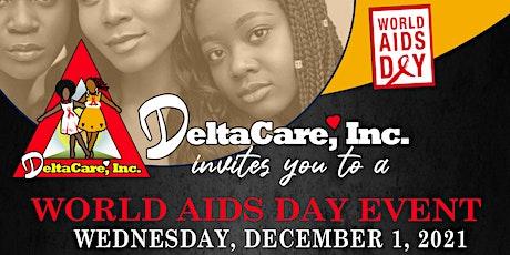 DeltaCare World Aids Day Event billets