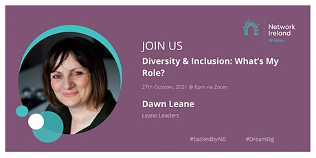 Diversity & Inclusion: What's My Role tickets