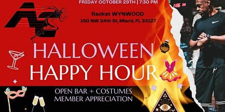 Athletic Compound Halloween Happy Hour tickets