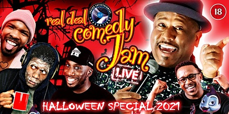 Birmingham Real Deal Comedy Jam Halloween 2021 tickets