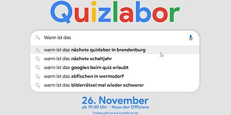 Quizlabor Brandenburg #7 Tickets