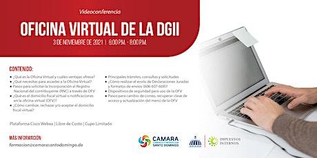 VIDEOCONFERENCIA: OFICINA VIRTUAL DE LA DGII ingressos