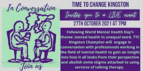 In Conversation - Mental Health in Unequal World tickets