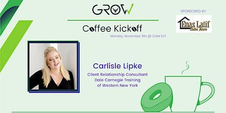 Virtual Coffee Kickoff - Carlisle Lipke tickets