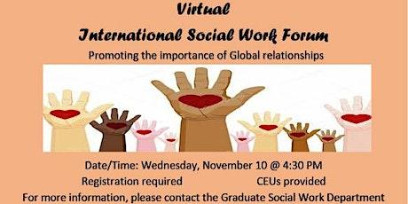 International Social Work Forum tickets