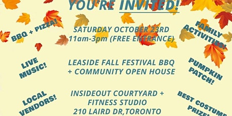 InsideOut Fitness Studio Presets - Leaside Fall Festival+Open House Event`! tickets