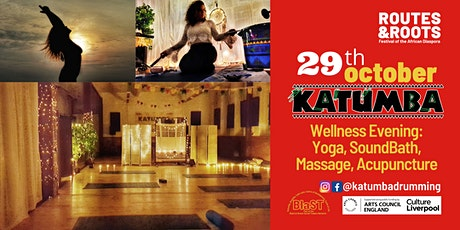 Routes&Roots Festival: FREE Wellness Eve- Yoga, Sound, Massage, Acupuncture tickets