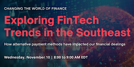 FinTech Trends in the Southeast: Alternative Payment Methods tickets