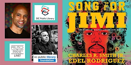 P&P Live! & DCPL Present Charles R. Smith & Edel Rogriguez | SONG FOR JIMI tickets