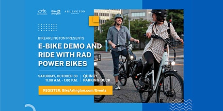 E-bike Demo and Ride with Rad Power Bikes tickets