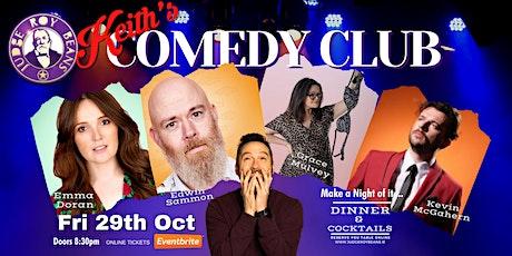 Keith's Comedy Club tickets
