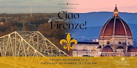 Ciao Firenze! tickets