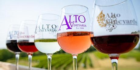 Paint & Sip Fundraiser at Alto Vineyards tickets