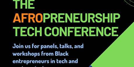 The Afropreneurship Tech Conference tickets