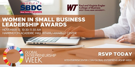 Global Entrepreneurship Week: Women in Small Business Leadership Awards tickets